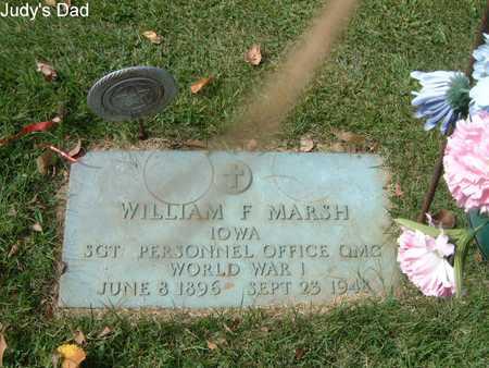 MARSH, WILLIAM - Lee County, Iowa   WILLIAM MARSH