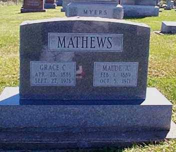 MATHEWS,, GRACE C. & MAUDE A. - Lee County, Iowa | GRACE C. & MAUDE A. MATHEWS,