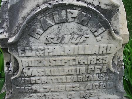 MILLARD, RALPH H. - Lee County, Iowa | RALPH H. MILLARD