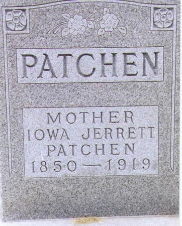 JARRETT PATCHEN, BARBARA IOWA - Lee County, Iowa | BARBARA IOWA JARRETT PATCHEN