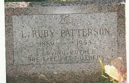 PATTERSON, L RUBY - Lee County, Iowa | L RUBY PATTERSON