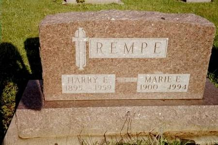 REMPE, HARRY E. & MARIE E. - Lee County, Iowa | HARRY E. & MARIE E. REMPE