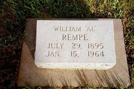 REMPE, WILLIAM