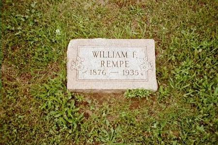 REMPE, WILLIAM F. - Lee County, Iowa | WILLIAM F. REMPE