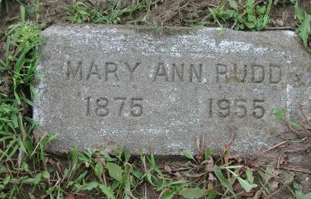 COPELAND RUDD, MARY ANN - Lee County, Iowa | MARY ANN COPELAND RUDD