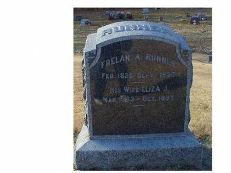 RUNNER, FRELAN A., ELIZA J. - Lee County, Iowa | FRELAN A., ELIZA J. RUNNER