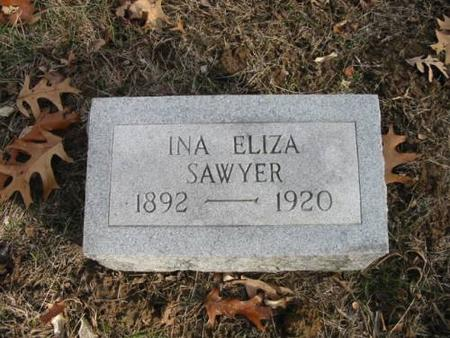 SAWYER, INA ELIZA - Lee County, Iowa | INA ELIZA SAWYER