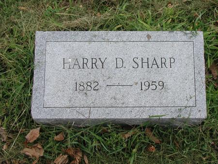 SHARP, HARRY - Lee County, Iowa | HARRY SHARP