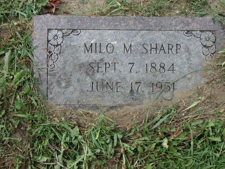 SHARP, MILO - Lee County, Iowa | MILO SHARP