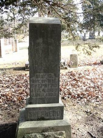 SHEPHERD, MAY D. - Lee County, Iowa | MAY D. SHEPHERD