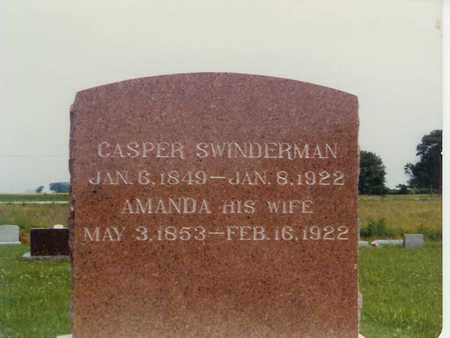 SWINDERMAN, CASPER - Lee County, Iowa | CASPER SWINDERMAN