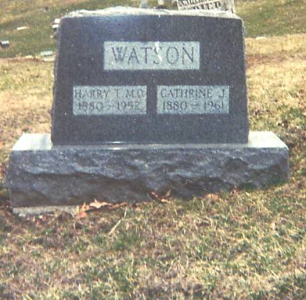 WATSON, HARRY T AND CATHERINE J - Lee County, Iowa | HARRY T AND CATHERINE J WATSON