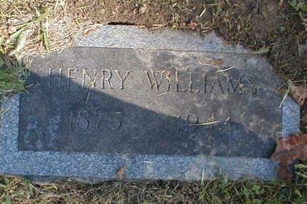 WILLIAMS, HENRY - Lee County, Iowa | HENRY WILLIAMS