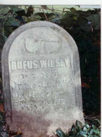 WILSEY, RUFUS - Lee County, Iowa | RUFUS WILSEY