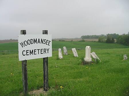 WOODMANSEE AKA CREAMER, CEMETERY - Lee County, Iowa   CEMETERY WOODMANSEE AKA CREAMER