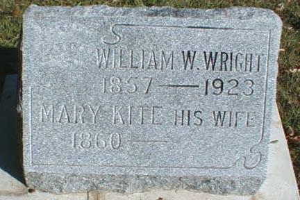 KITE WRIGHT, MARY - Lee County, Iowa | MARY KITE WRIGHT