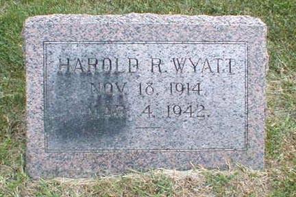 WYATT, HAROLD R. - Lee County, Iowa | HAROLD R. WYATT