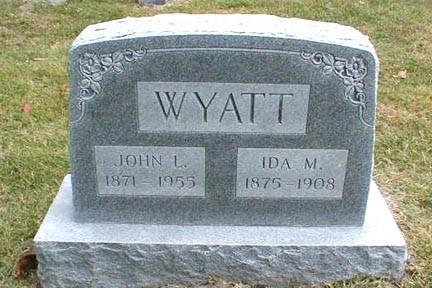 WYATT, JOHN L. - Lee County, Iowa   JOHN L. WYATT