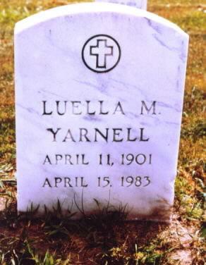 BARNES YARNELL, LUELLA M. - Lee County, Iowa | LUELLA M. BARNES YARNELL