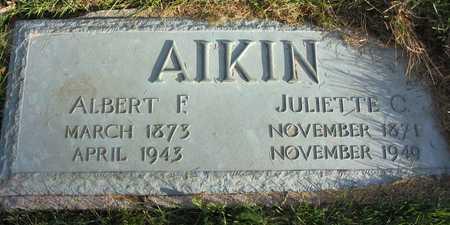 AIKIN, ALBERT F. - Linn County, Iowa | ALBERT F. AIKIN