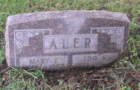 ALER, MARY F. - Linn County, Iowa | MARY F. ALER
