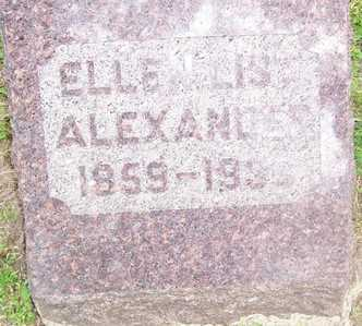 LIST ALEXANDER, ELLEN - Linn County, Iowa | ELLEN LIST ALEXANDER