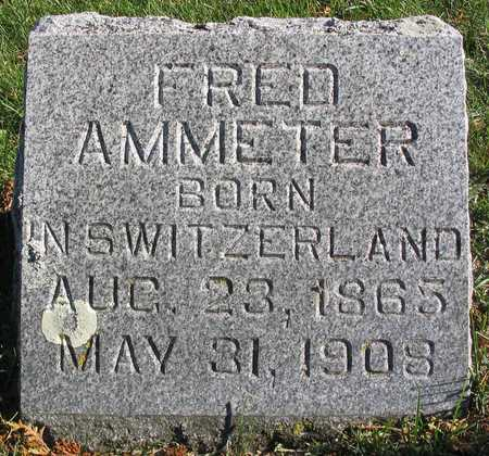 AMMETER, FRED - Linn County, Iowa | FRED AMMETER
