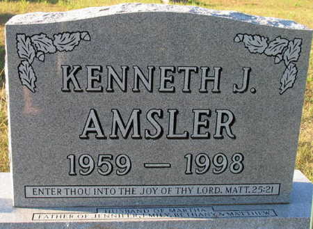 AMSLER, KENNETH J. - Linn County, Iowa | KENNETH J. AMSLER