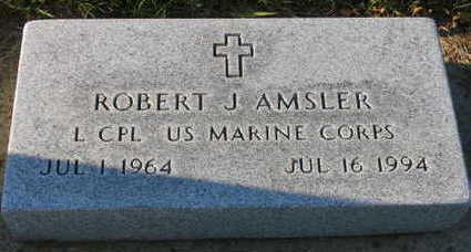 AMSLER, ROBERT J. - Linn County, Iowa | ROBERT J. AMSLER