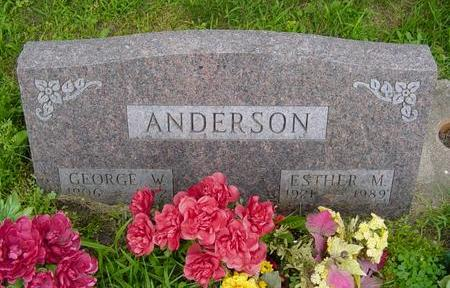 LEINEN ANDERSON, ESTHER - Linn County, Iowa | ESTHER LEINEN ANDERSON