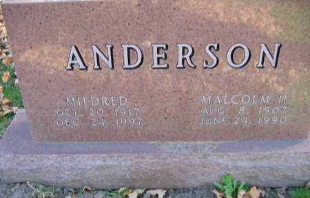 ANDERSON, MILDRED - Linn County, Iowa | MILDRED ANDERSON