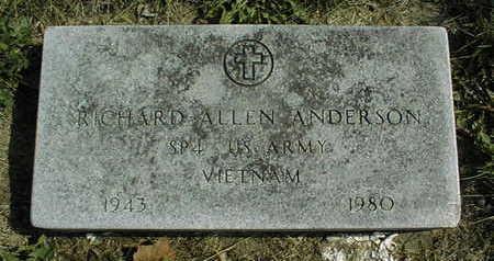 ANDERSON, RICHARD ALLEN - Linn County, Iowa | RICHARD ALLEN ANDERSON