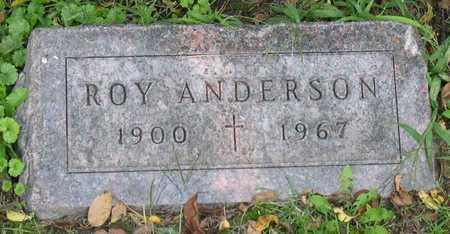 ANDERSON, ROY - Linn County, Iowa | ROY ANDERSON