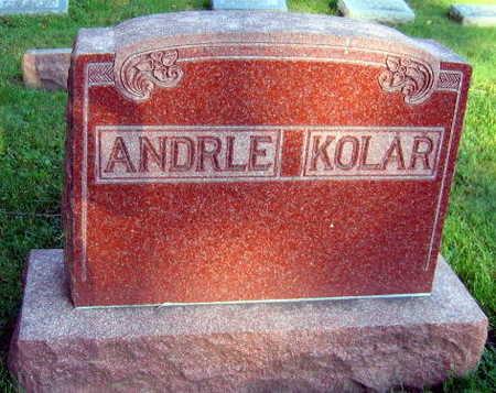 ANDRLE KOLAR, FAMILY STONE - Linn County, Iowa | FAMILY STONE ANDRLE KOLAR