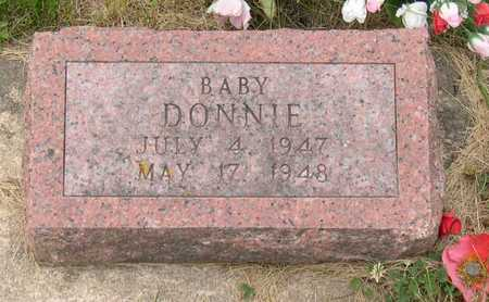 ANDRLE, BABY DONNIE - Linn County, Iowa | BABY DONNIE ANDRLE