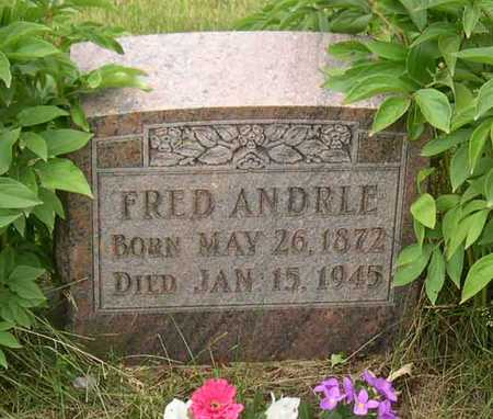 ANDRLE, FRED - Linn County, Iowa | FRED ANDRLE
