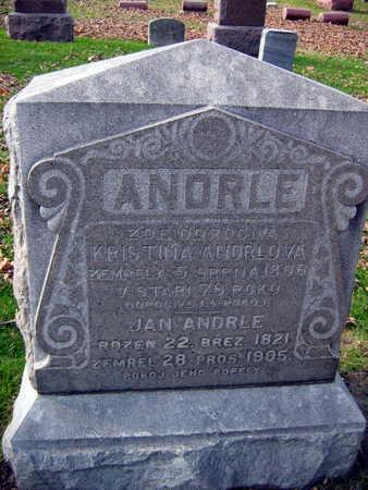 ANDRLOVA ANDRLE, KRISTINA - Linn County, Iowa | KRISTINA ANDRLOVA ANDRLE