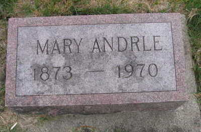 ANDRLE, MARY - Linn County, Iowa | MARY ANDRLE
