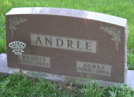 ANDRLE, AGNES - Linn County, Iowa | AGNES ANDRLE