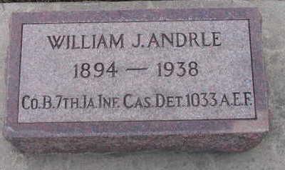 ANDRLE, WILLIAM J. - Linn County, Iowa | WILLIAM J. ANDRLE