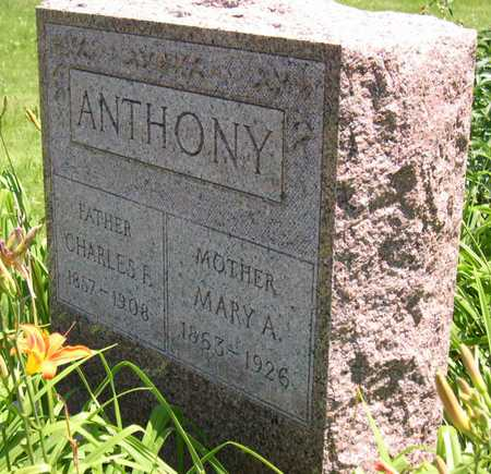 ANTHONY, MARY A. - Linn County, Iowa | MARY A. ANTHONY