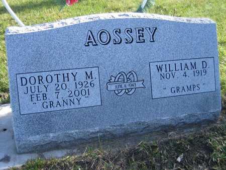 AOSSEY, DOROTHY M. - Linn County, Iowa | DOROTHY M. AOSSEY