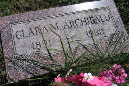 ARCHIBALD, CLARA M. - Linn County, Iowa | CLARA M. ARCHIBALD