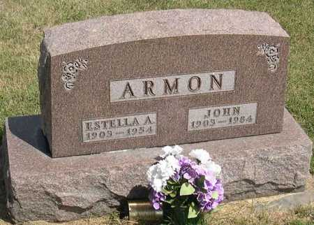 ARMON, ESTELLA A. - Linn County, Iowa | ESTELLA A. ARMON