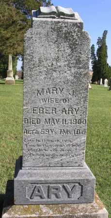 ARY, MARY J. - Linn County, Iowa | MARY J. ARY