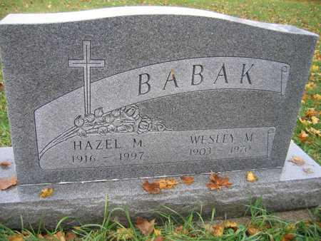 BABAK, HAZEL M. - Linn County, Iowa | HAZEL M. BABAK