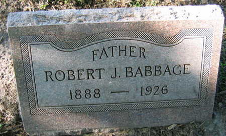 BABBAGE, ROBERT J. - Linn County, Iowa | ROBERT J. BABBAGE