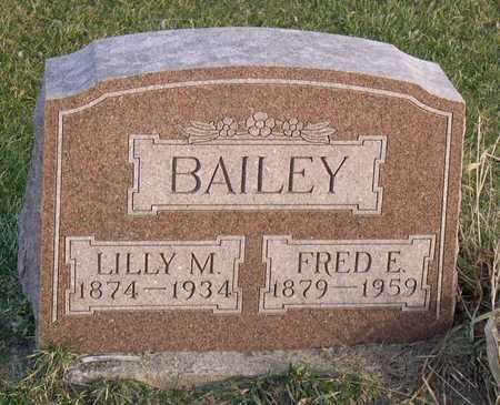 BAILEY, FRED E. - Linn County, Iowa | FRED E. BAILEY