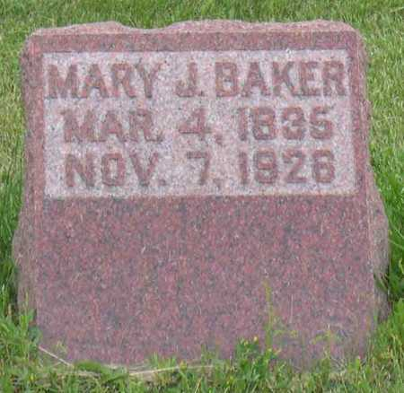 BAKER, MARY J. - Linn County, Iowa | MARY J. BAKER