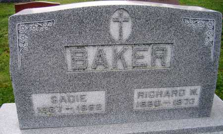 BAKER, RICHARD W. - Linn County, Iowa | RICHARD W. BAKER